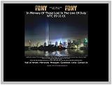 Vzpomínka na hasiče a policisty z 11.září...
